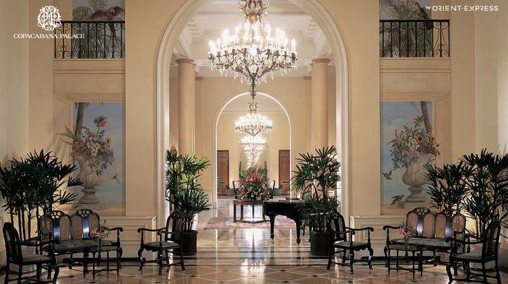 Hotel Copacabana Palace - Rio de Janeiro – Praia de Copacabana – Luxo - Hotel Copacabana Palace – Luxo – Praia de Copacabana - Hotel Rio de Janeiro – Brasil