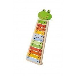 ♥ Sevi Music Kids Toy Girls Boys Metal Xylophone Frog Musical Instrument Gift ♥