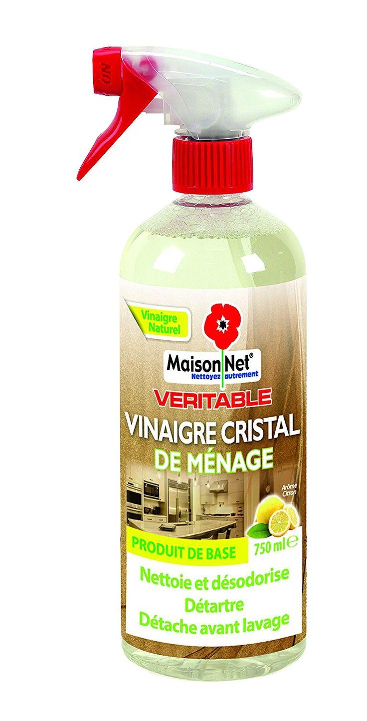 VINAIGRE CRISTAL DE MÉNAGE MAISON NET