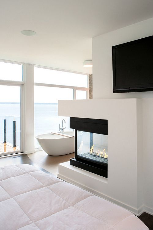 livingpursuit: Ottawa River Home | Source | Bedroom & Bathroom | Life1nmotion