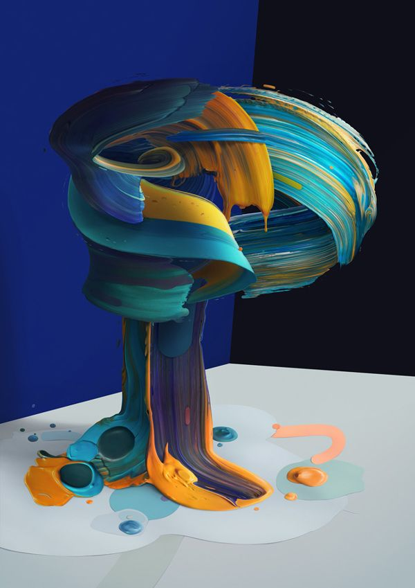 Atypical, Painting Typography by Pawel Norbert