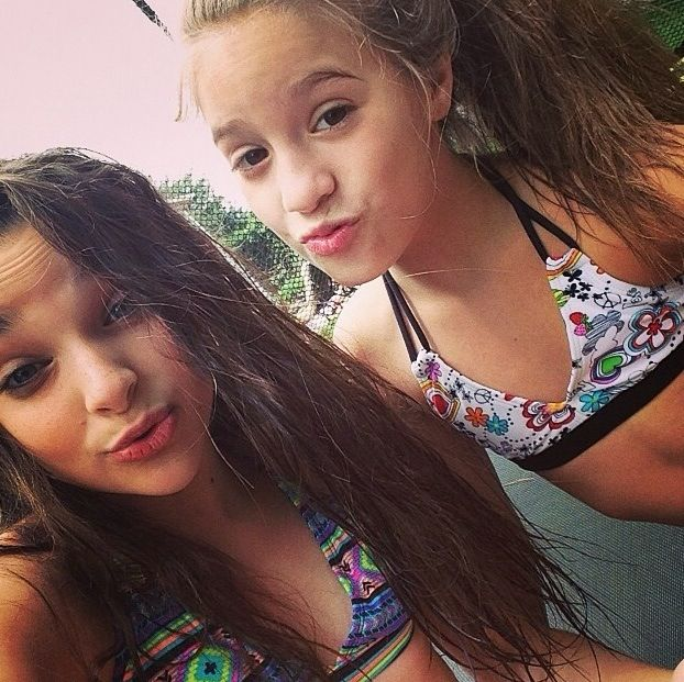 Went swimming with Kendall, Kalani, and Maddie!! Now we are showering and getting ready to eat pizza!! -Kenzie