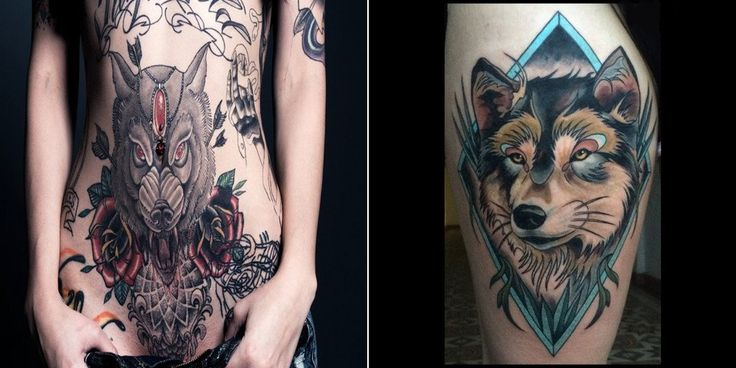 17 images about wolf tattoos on pinterest tattoo design. Black Bedroom Furniture Sets. Home Design Ideas