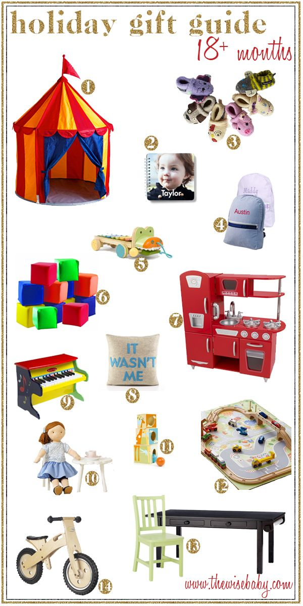 Holiday Gift Ideas For Your Special Little 18 Month Old