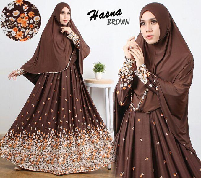 Beli Gamis Cantik Murah B106 Hasna Syari Unik - http://www.butikjingga.com/gamis-cantik-murah-b106-hasna-syari