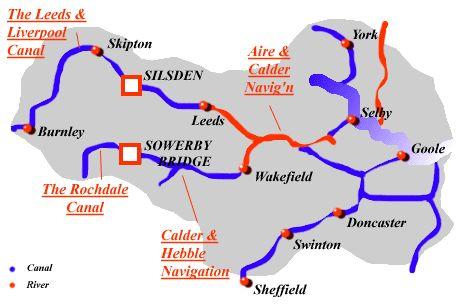 Yorkshire waterways