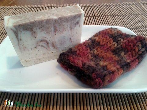 Gyapjú szappantasak (barna), Szépségápolás, Fürdőszobai kellék, Meska