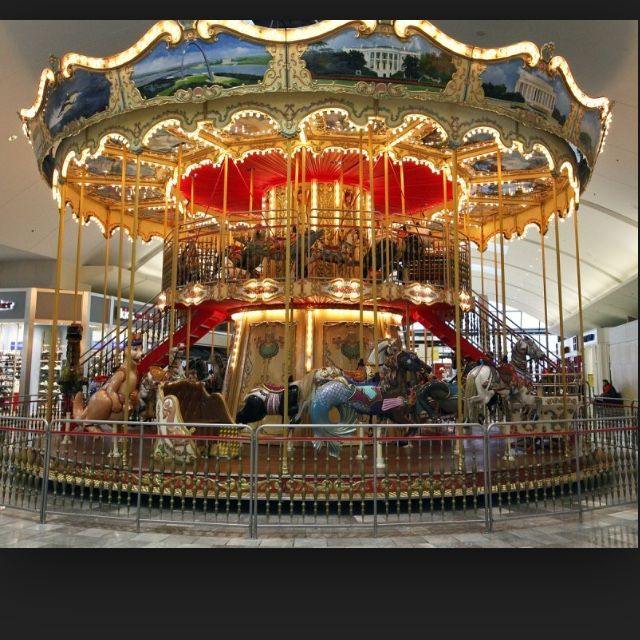 Carousel At Garden State Plaza Mall Paramus Nj Yuggler Kidsactivities Favorite Winter