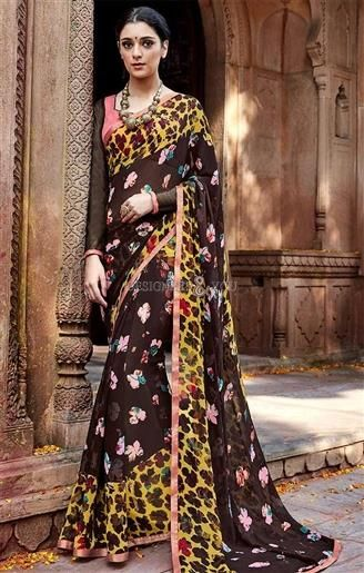 Graceful Brown Printed Georgette Simple Saree For Ladies   #CasualSarees #DesignersAndYou #CasualSareesOnline #CasualSareesDesigns #CasualSareesPatterns #CasualSareeBlouseDesigns #ArtSilkSarees #ArtSilkCasualSarees #SilkSarees #LowPriceCasualSarees #CheapCasualSarees #BestPriceCasualSarees #Sarees #SareesOnline #SareesDesigns #SareesPatterns #SareeBlouse #SareesBlouseDesigns #SareesBlousePatterns #PrintedSarees #PrintedCasualSarees #FashionableSarees #SimpleSarees #DailyWearSarees…