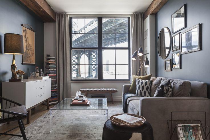 Dumbo Warehouse Family Room Apartment Interior