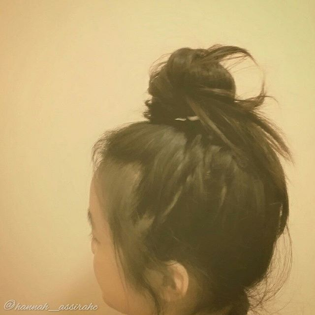 Top 100 photos of asian hairstyles #messybun #lazy #lazygirl #lazygirlhair #asianhair