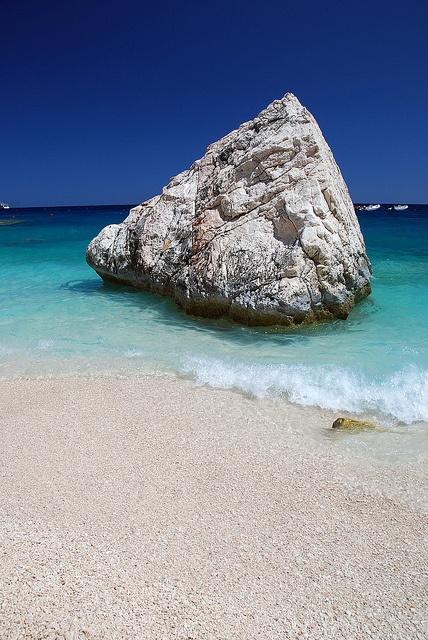 Sardinia - absolutely #1 on my places to go list. Cala Mariolu beach, Sardinia, Italy