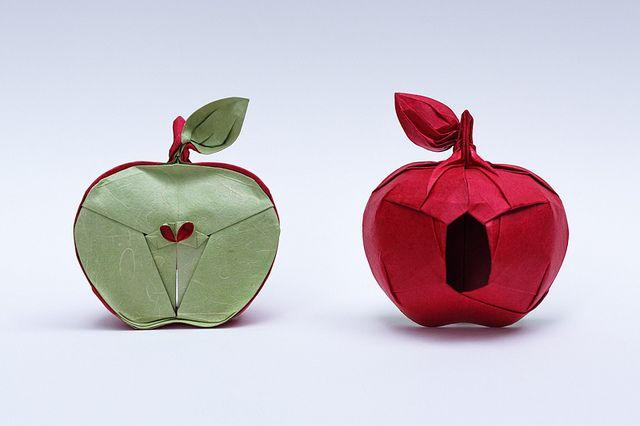 Origami Apple | Flickr - Photo Sharing!