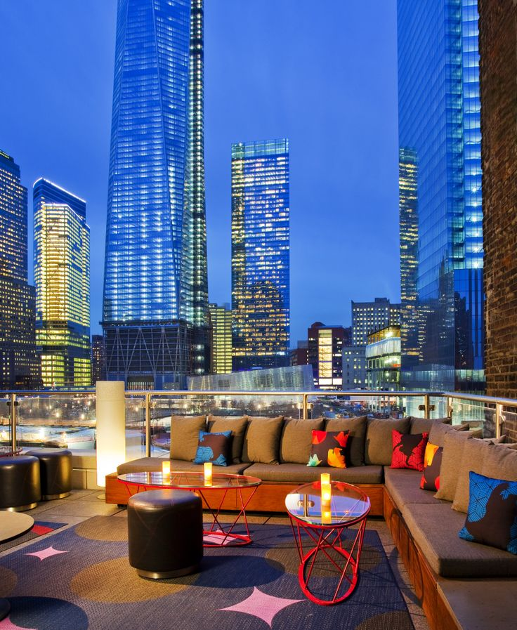 W New York   Downtownu2014Terrace Overlooking One World Trade Center. Find This  Pin And More On Living Room Bar ... Part 94