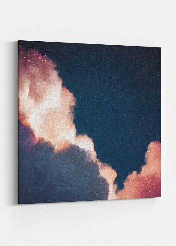 Wolkenmalerei, abstrakte Originalkunst, moderne Kunst, Wolkenkunst, abstrakte Wohnkultur, Landschaftsmalerei, Kunst im Trend – bereit zum Aufhängen – #Abstract #ART # …