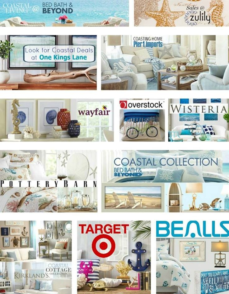 163 best Shop Sales Coastal Home Decor images on Pinterest