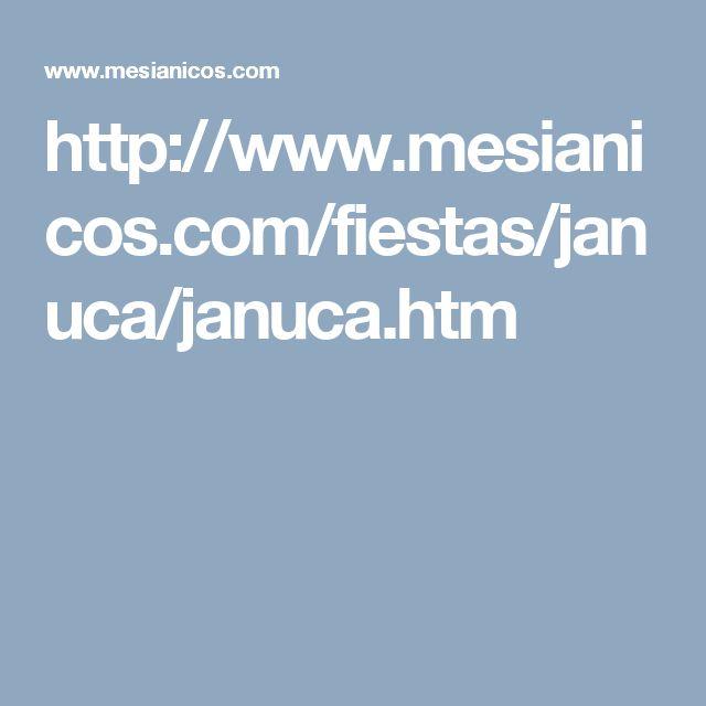 http://www.mesianicos.com/fiestas/januca/januca.htm