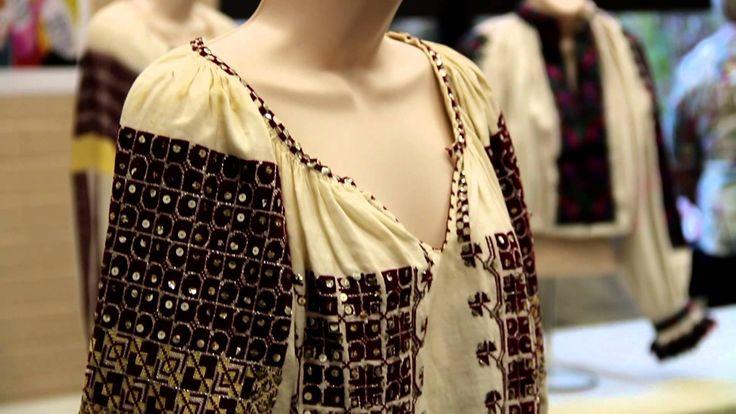 Romanian Traditional Dress Exhibition in L.A. - Daniela Ionescu's Collec...