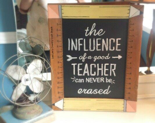 Custom Teacher Sign