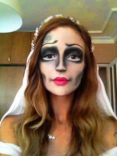 Corpse Bride makeup  By me Semra Altinel Caggiari