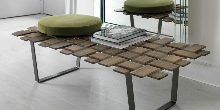Mobiliario creatividad y conceptos para bancos de interior. Beneficios de los muebles de madera.Galeria con modelos de bancos de estilo moderno y futurista.