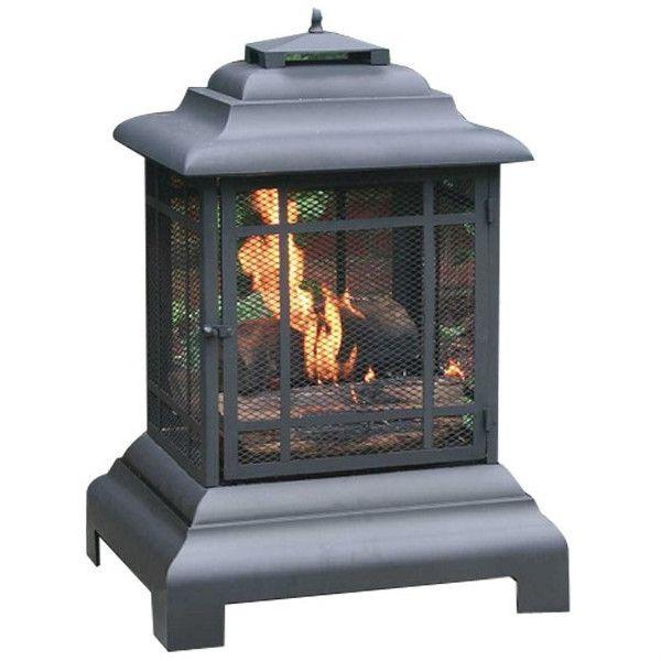 Fire Sense Pagoda Patio Fireplace - Wood Burning (#02679)