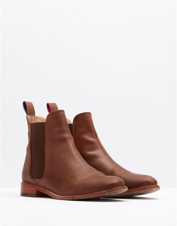 ----------------------------------------------------  JOULES || BELGRAVIA Women's Leather Chelsea Boot |