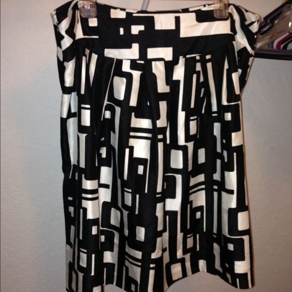 Black and white business casual skirt Cute skirt for work or church New Directions Skirts