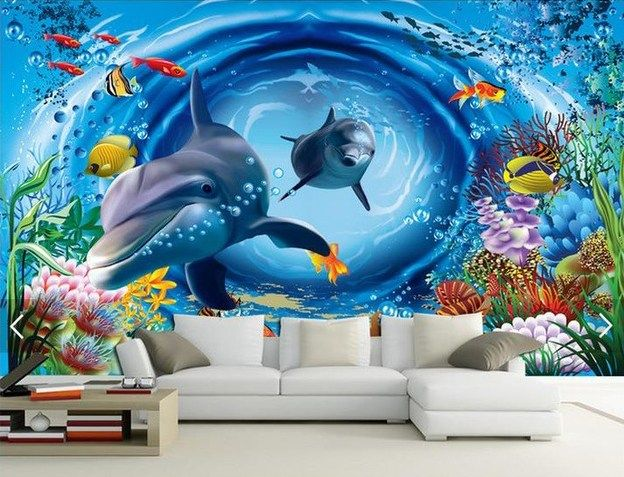 30+ Stunning 3D Wall Painting That Will Amaze You