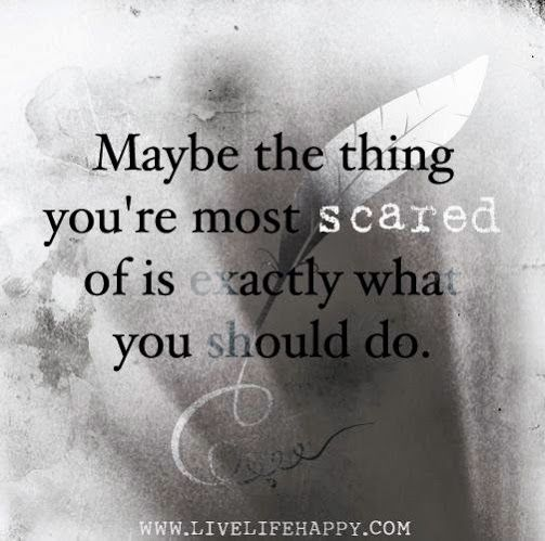 Inspirational Quotes About Fear: 62 Best Overcoming Fear Images On Pinterest