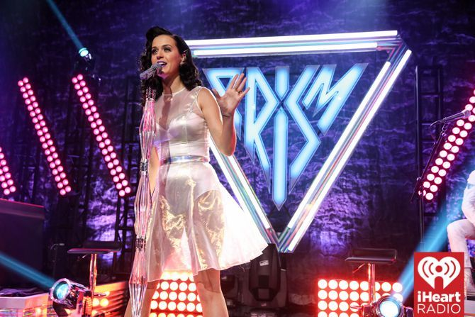 PHOTOS: The iHeartRadio Theater Los Angeles' grand opening celebrating the release of Katy Perry's new album PRISIM on October 22, 2014 in Burbank, CA