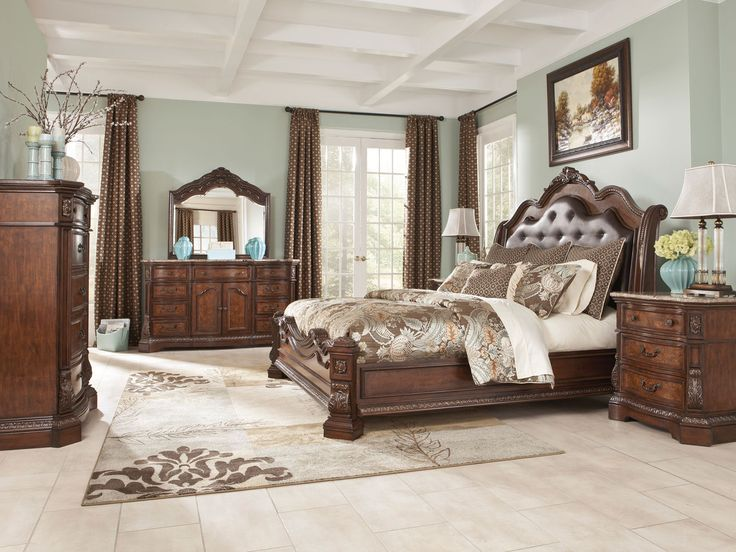 11 Best Bedroom Furniture Images On Pinterest  Bedrooms Bedroom Enchanting King And Queen Bedroom Decor Design Decoration