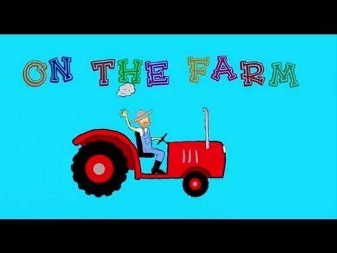 Farm Animals for Children (includes spelling)
