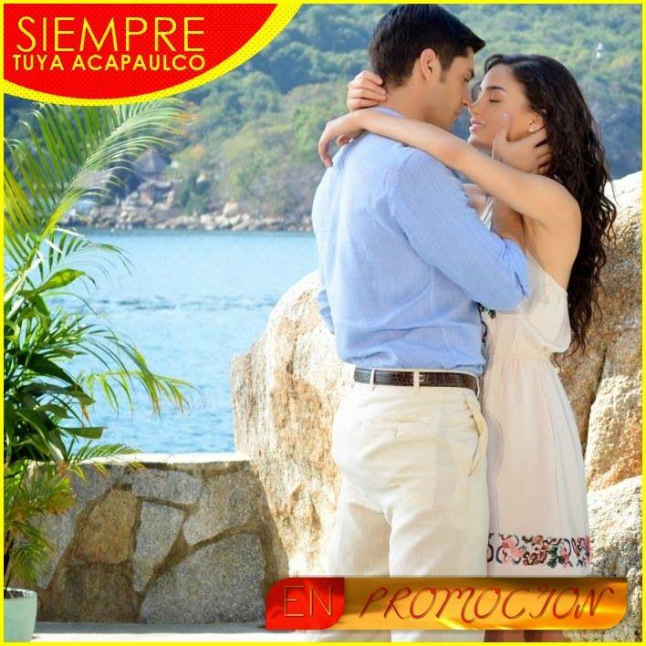 En Promoción se encuentra actualmente la nueva producción de Azteca titulada, Siempre Tuya Acapulco, protagonizada por Melissa Barrera y Dan...