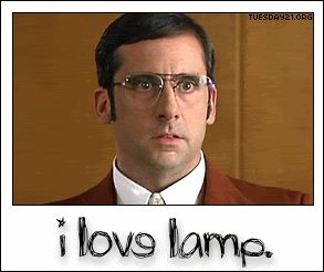 I Love Lamp   Brick :)