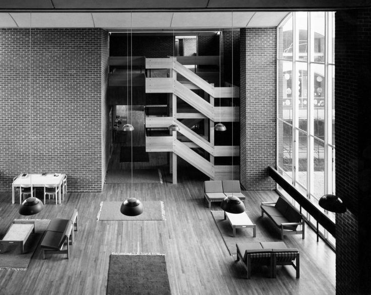 Falmer House University Of Sussex C1970 Basil Spence