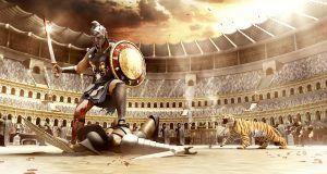 """Nem ettek húst, és egy különleges """"energiaitalt"""" ittak az ókori gladiátorok!"""