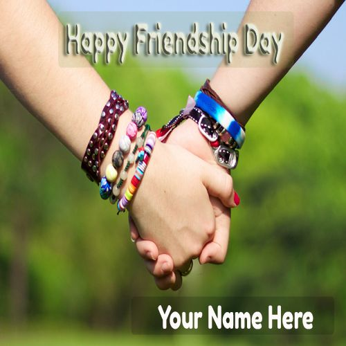 Write Your Name On Friendship Hand Pictures Free.Best Whatsapp Picture of Friendship Day 2015 Online.Free Create Happy Friendship Day Pic. Create Name Photo of