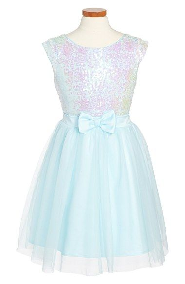Zunie+Sleeveless+Sequin+Dress+(Big+Girls)+available+at+#Nordstrom