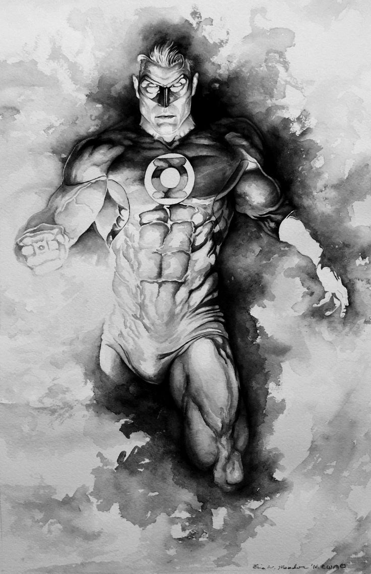 Green Lantern Myst by Eric Meador