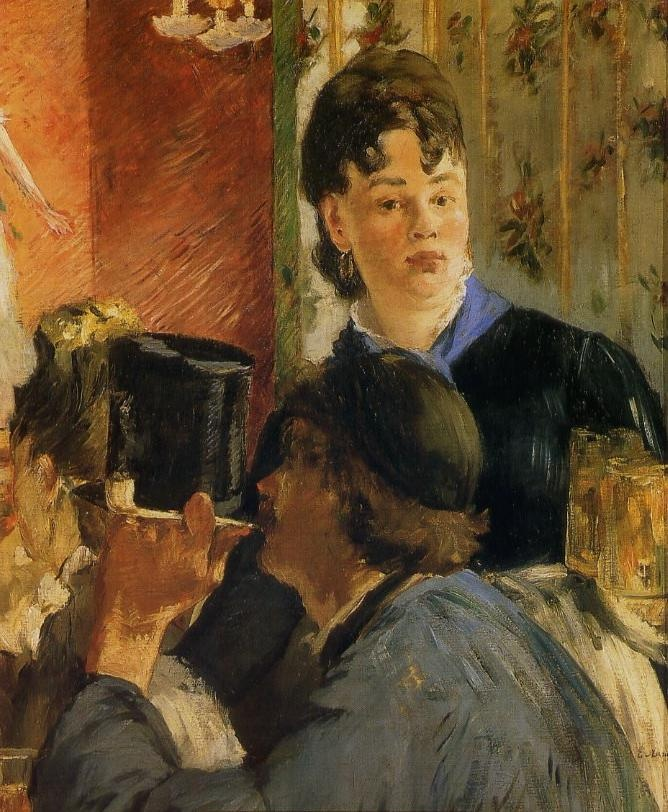 Manet : La serveuse de bocks