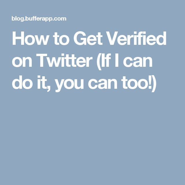 how to get verified on twitter business