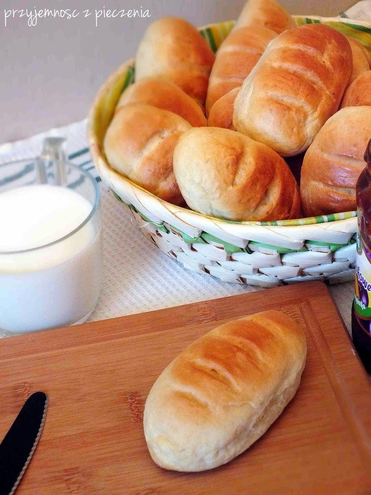 Przyjemność z pieczenia: Bułeczki mleczne-śniadaniowe
