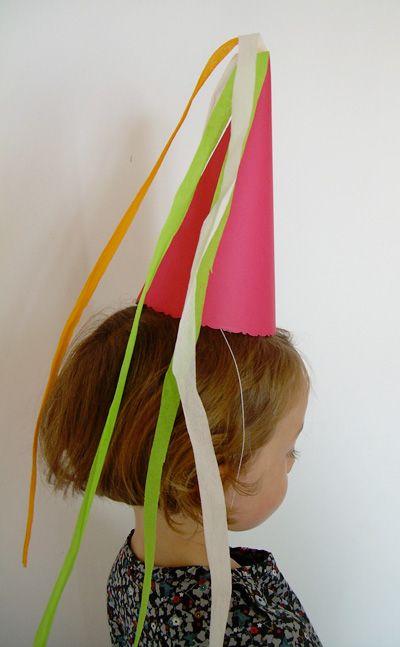 Chapeau de princesse fée déguisement en papier, Tuto pour faire - Loisirs créatifs