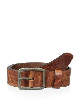63% OFF Gordon Rush Men's Distressed Belt (Gold)