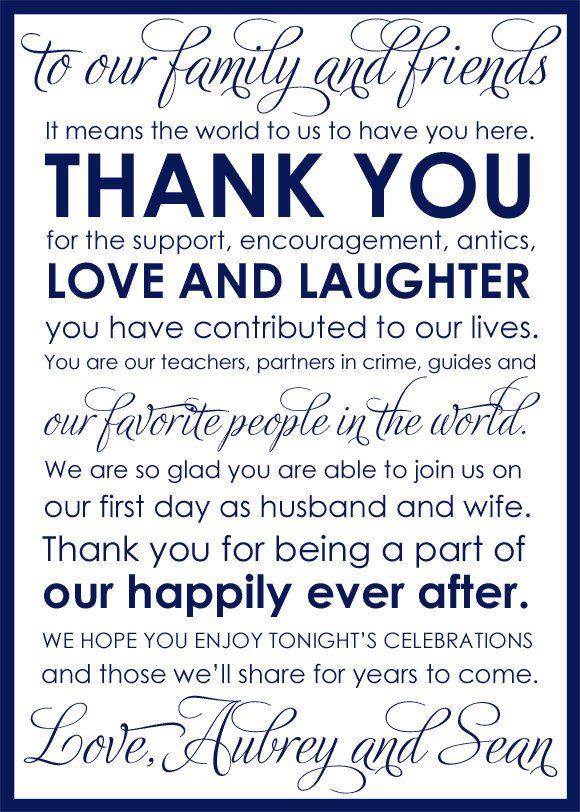 Best 25+ Wedding thank you ideas on Pinterest | Wedding thank you ...