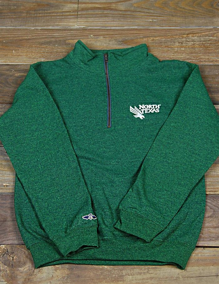 Stay warm North Texas fans in this new sweatshirt. Go Mean Green!