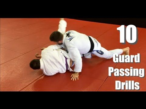 10 BJJ Guard Passing Drills (Starting High And Working Low) | WATCH BJJ