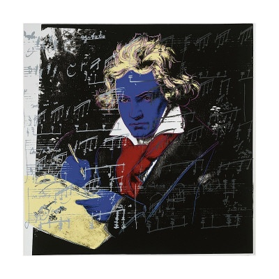 Beethoven, c.1987 (blue face)