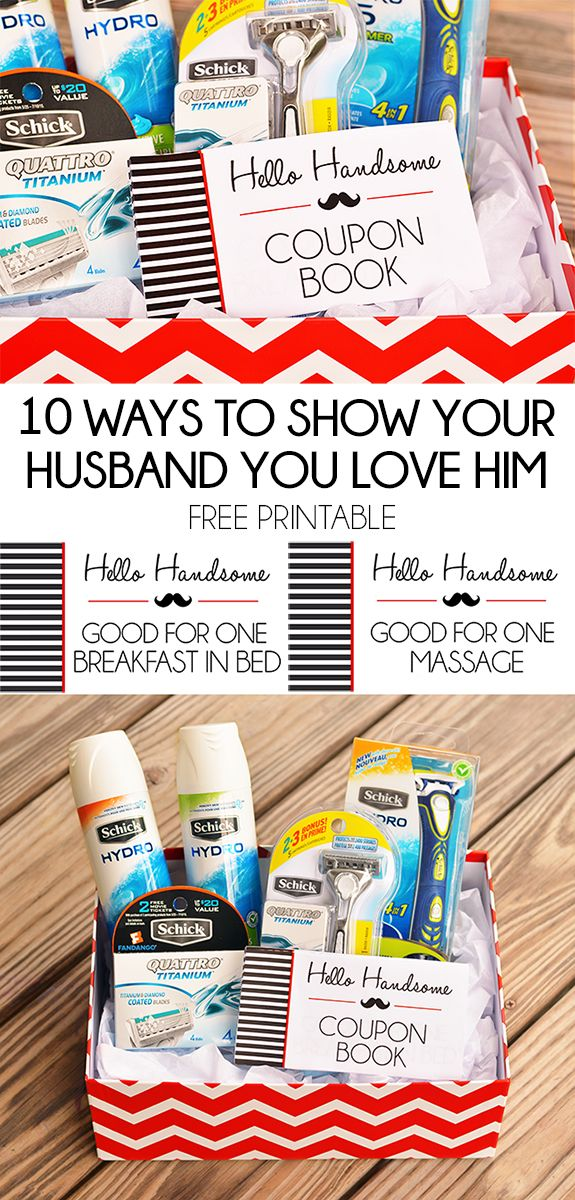 10 Ways To Show Your Husband You Love Him + Free Printable Coupon Book #MakeItEpic #ad